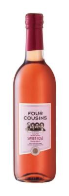 FOUR COUSINS NATURAL SWEET ROSE - 12 x 500ml