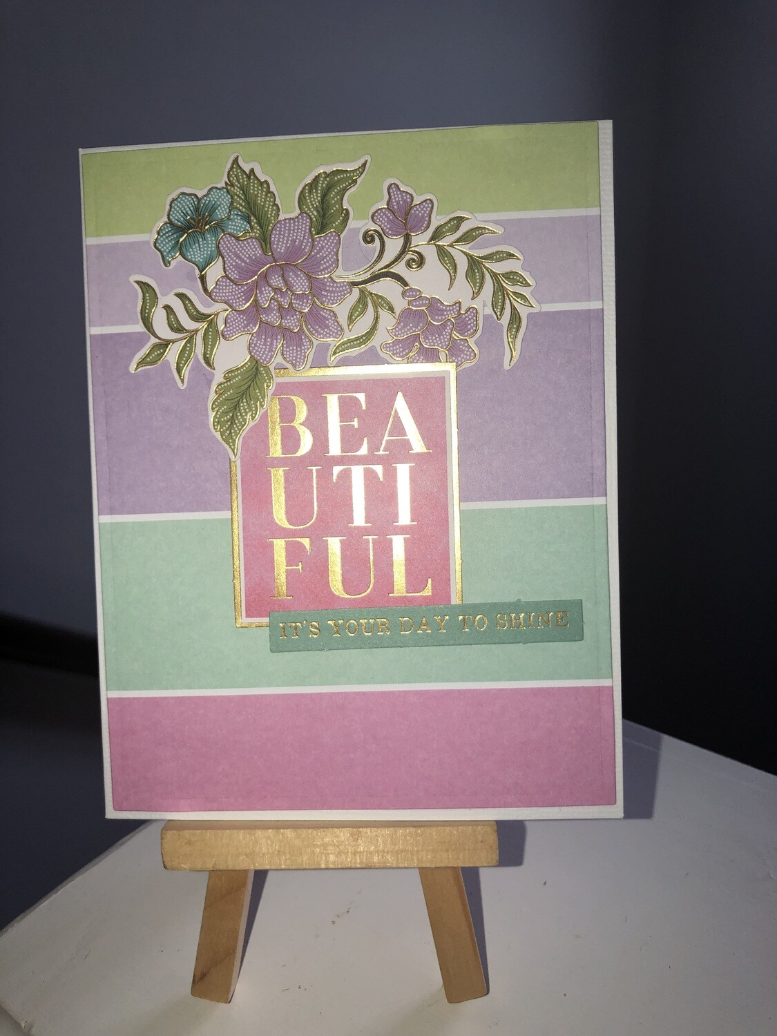 Beautiful and Colorful Card