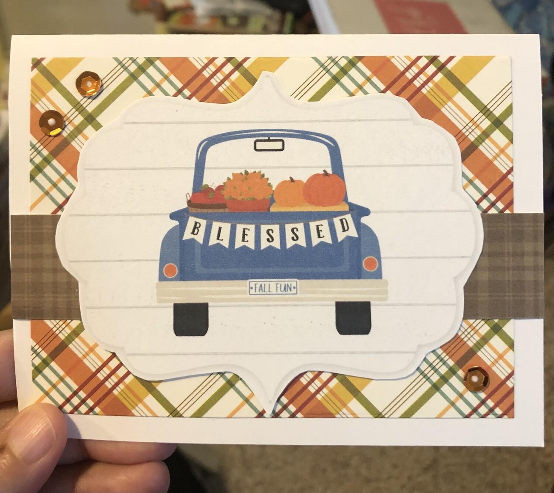Blessed Fall Fun Card