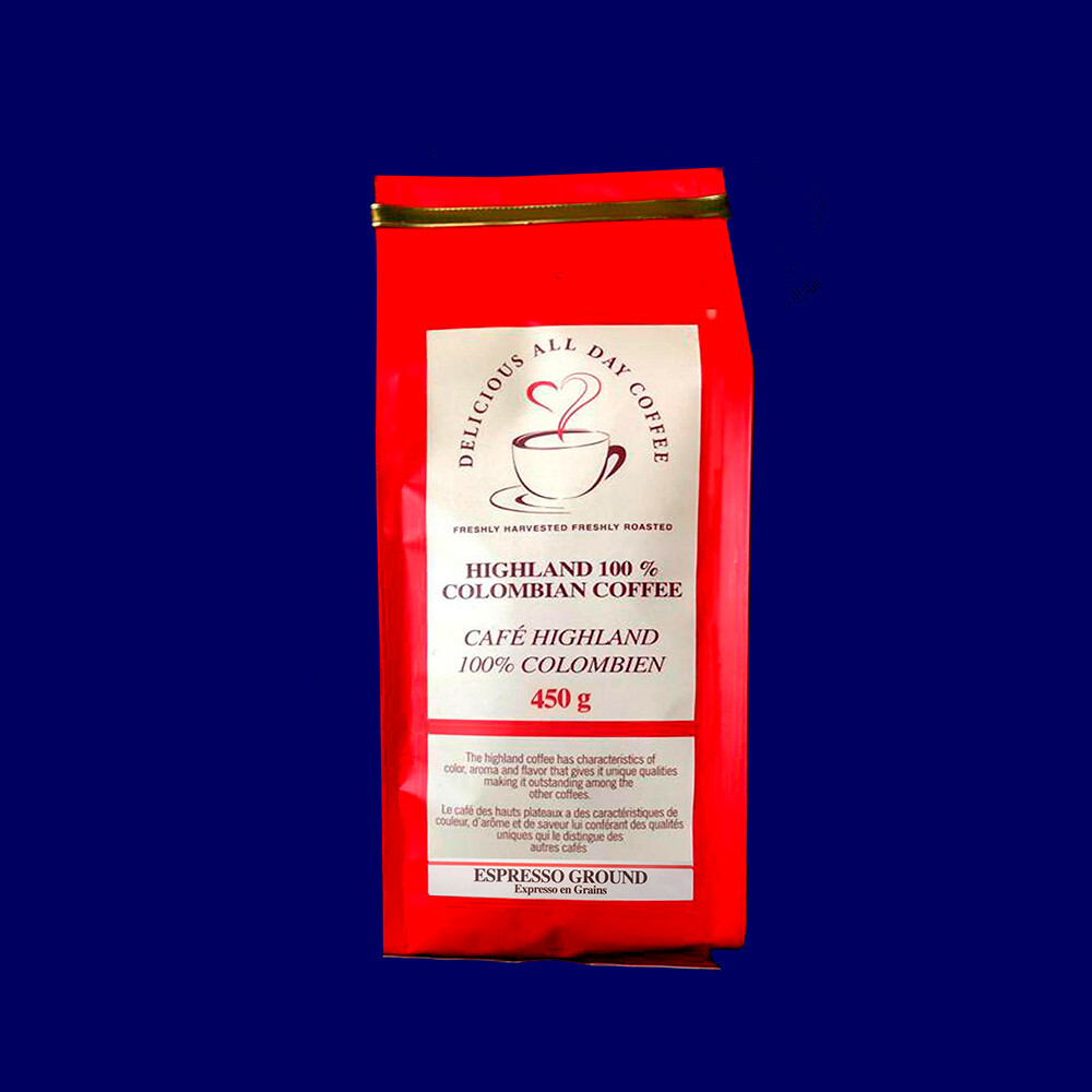 450g Espresso Roasted (Grounded)