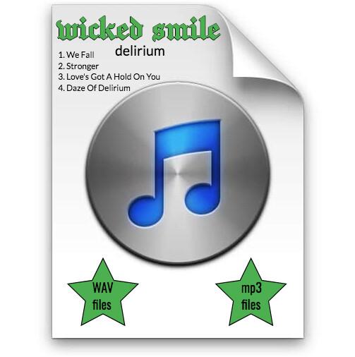 Wicked Smile - Delirium ep WAV & mp3 download
