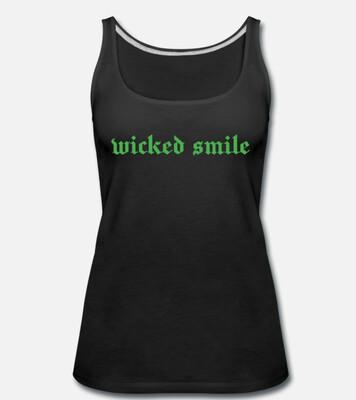 Wicked Smile women's singlet/tank logo top (International orders outside Australia)
