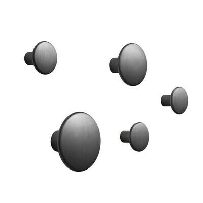 The Dots knagg metall 5-pakk