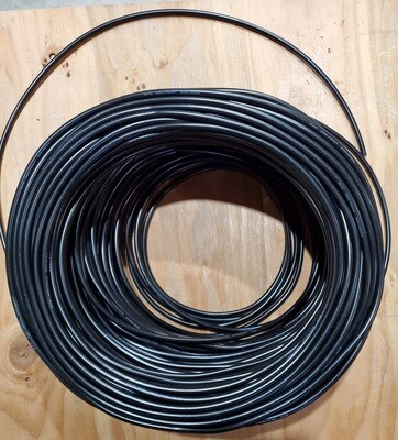100 Foot 18 gauge ROUND 3 Core Wire