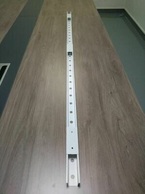 PermaTrack 50 Feet of Track WHITE with holes on the BOTTOM FACING DOWN  - PRE SALE