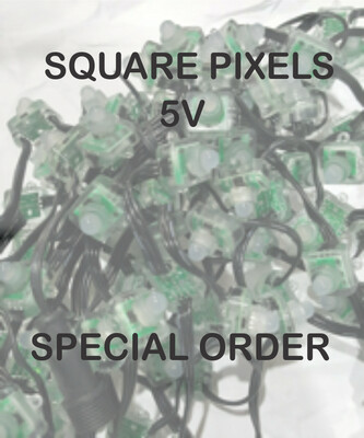5V WS2811 Square Pixels   - SPECIAL ORDER - 4 to 8 weeks for delivery