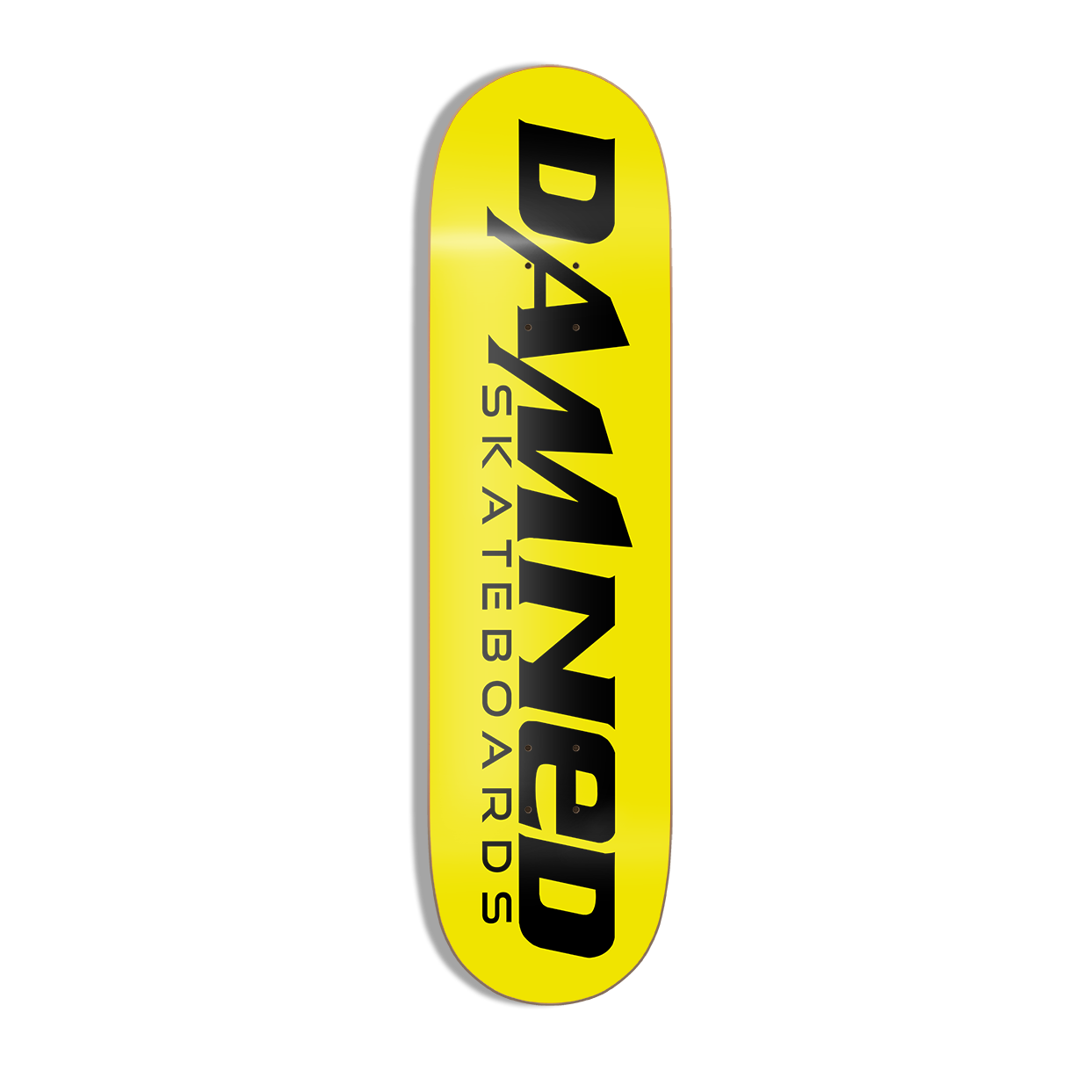 """Damned 1st Edition Deck MID Concave 8.125"""" inkl. Griptape"""
