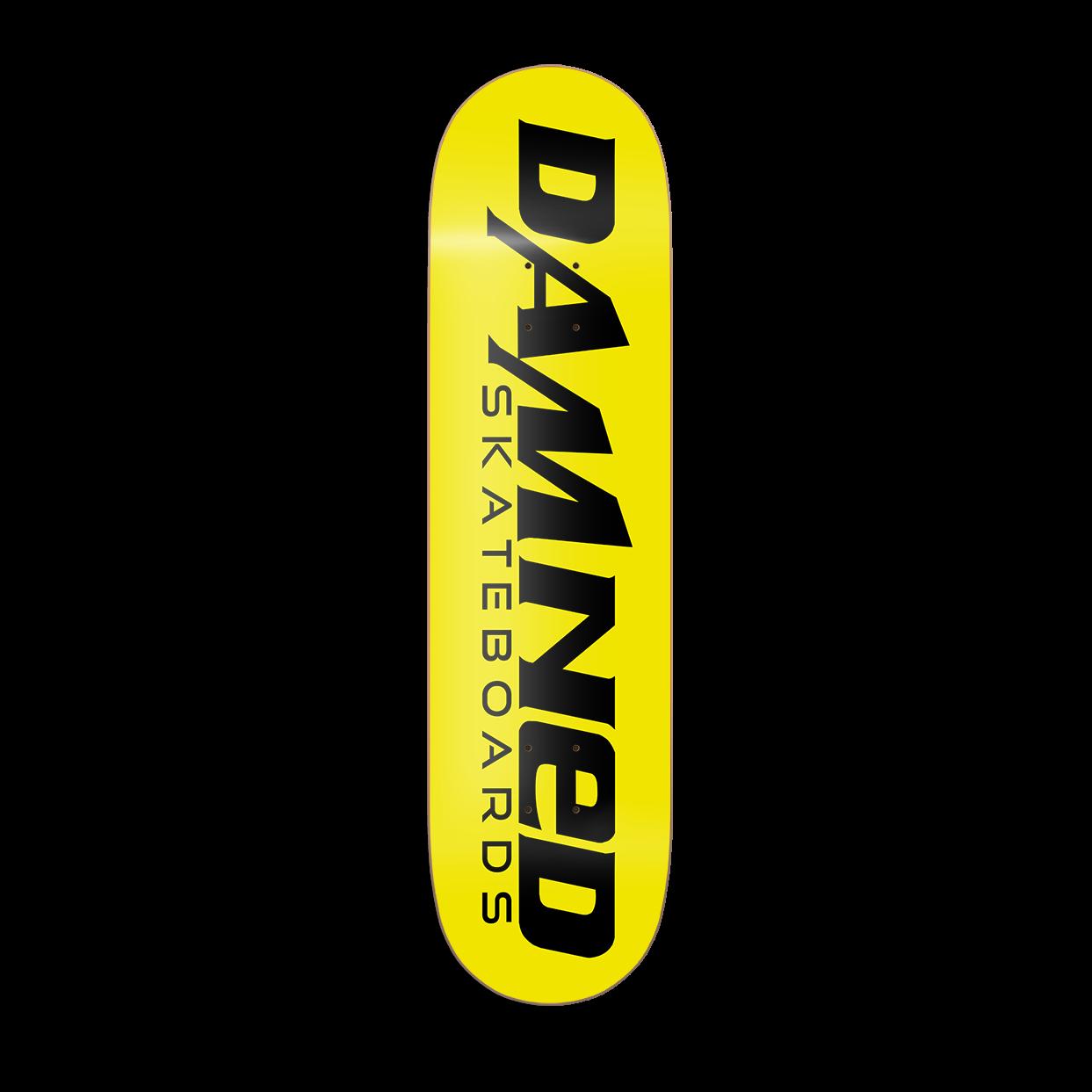 DS 1st Edition Deck HIGH Concave inkl. Griptape