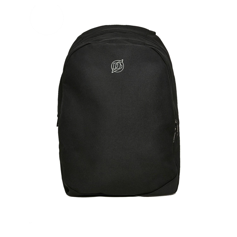 DS Black Backpack bestickt