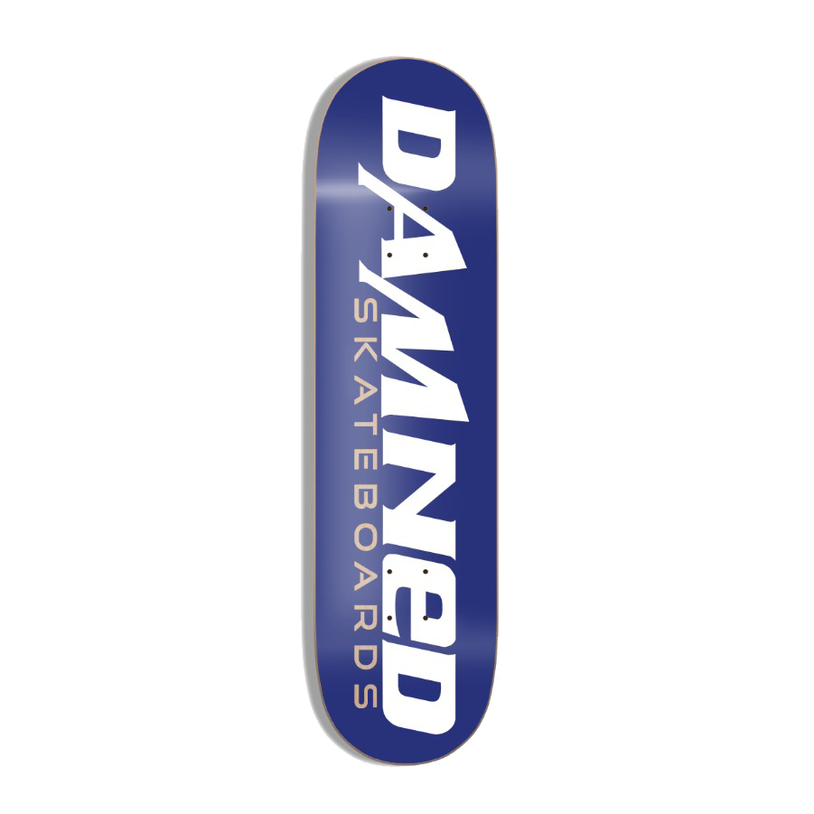 DS BLUE LOGO Deck HIGH Concave inkl. Griptape
