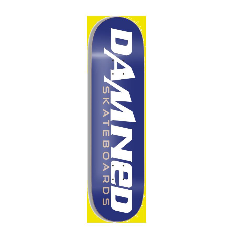DS BLUE LOGO Deck MID Concave inkl. Griptape