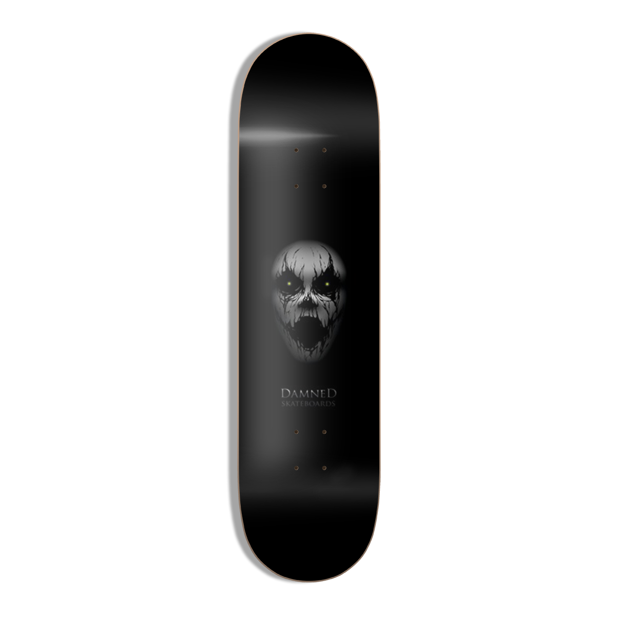 """Damned LOST Deck 8.375"""" HIGH Concave inkl. Griptape"""
