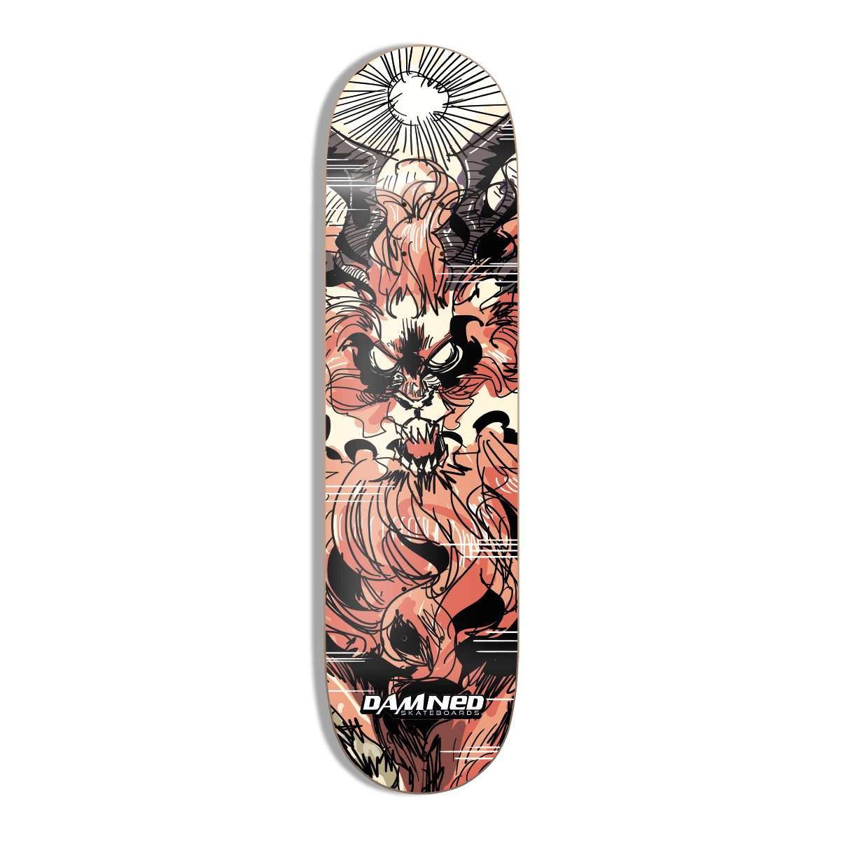 DS DRACO IGNIS Deck HIGH Concave inkl. Griptape