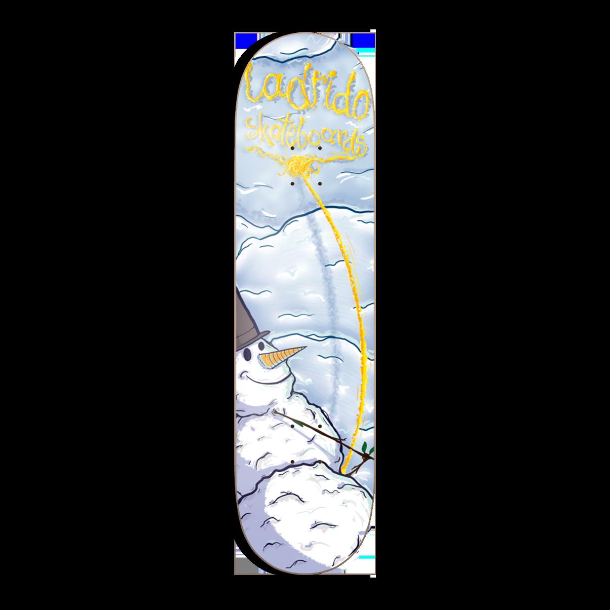 Ladrido Snowman Deck HIGH Concave inkl. Griptape