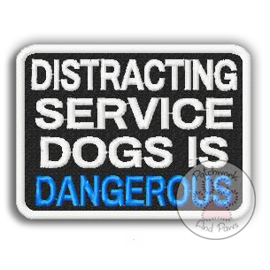 Distracting Service Dogs Is Dangerous