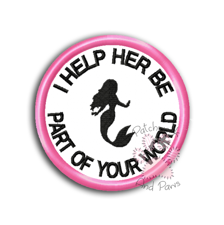 I Help Her Be Part Of Your World