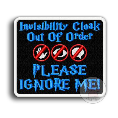 Invisibility Cloak Out of Order