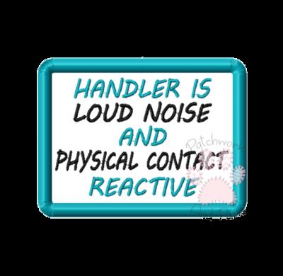 Handler Is Noise & Contact Reactive