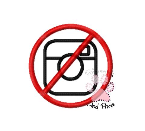 No Photos Instagram Mini Patch