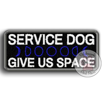 Service Dog Give Us Space