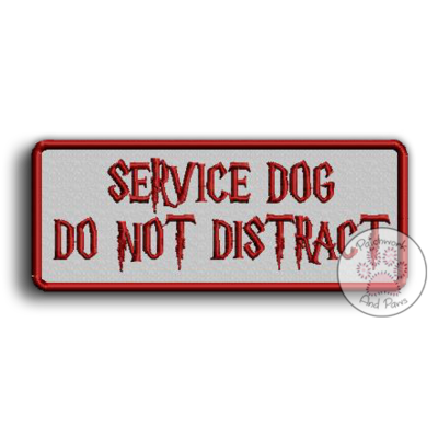 Service Dog Do Not Distract HP
