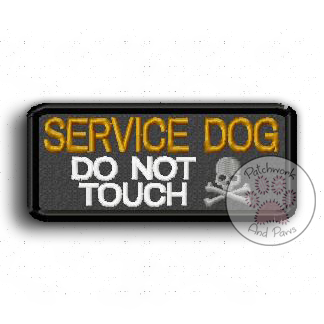 Service Dog Do Not Touch