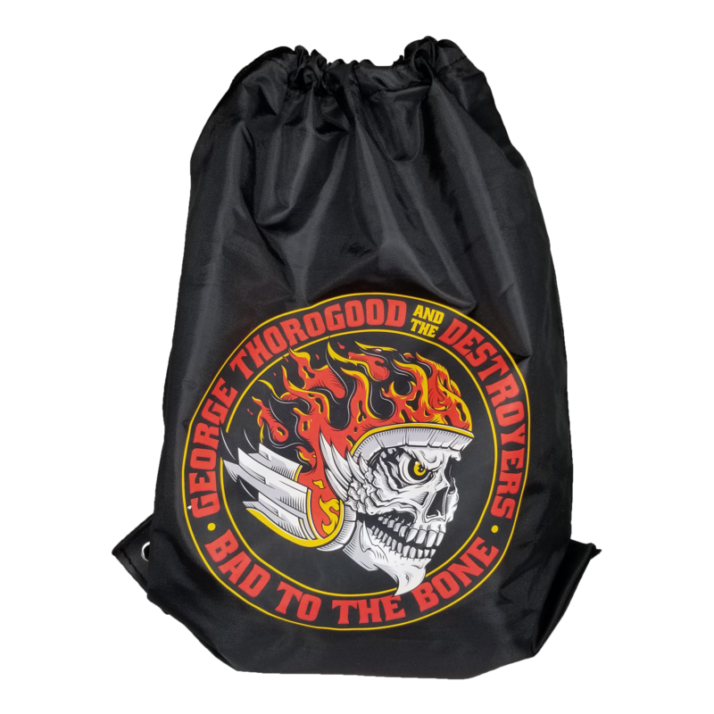 Bad to the Bone Drawstring Backpack