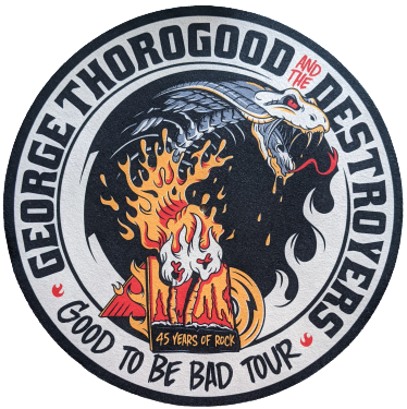 Good to be Bad Turntable Slip Mat