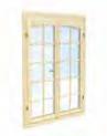 Fenêtre double 28mm 90x145cm