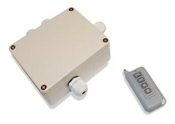 Commande à distance + récepteur pour projecteur LED