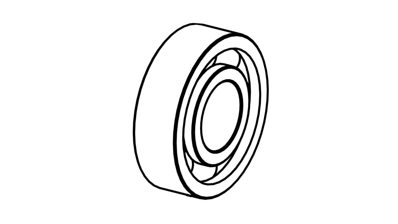 Bearing 47/20/14 mm - TVH - C3 (F003)