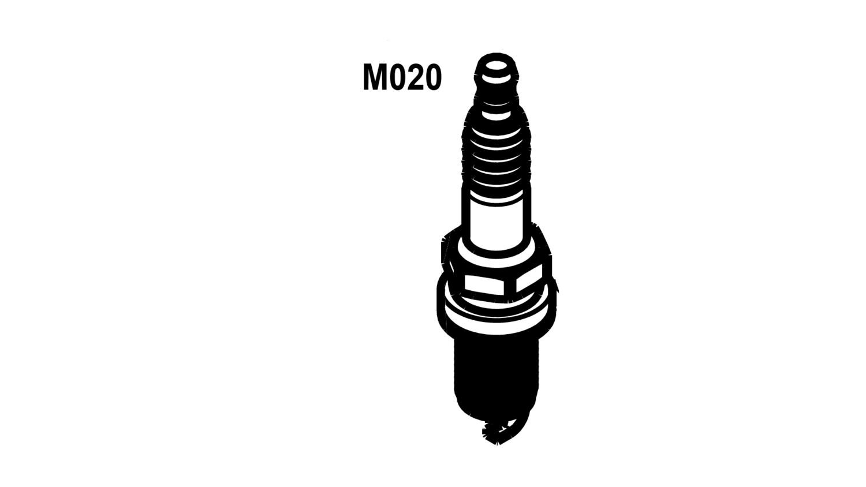 Spark plug NGK BR9ES (M020)