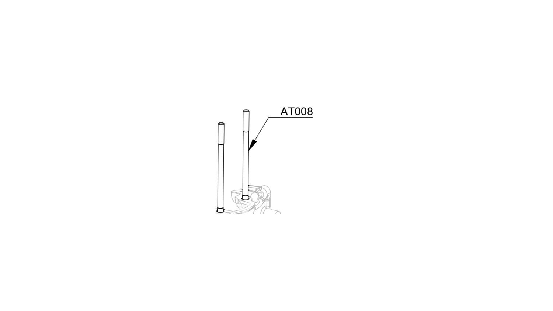 Cylinder stud 6 x 108 mm (Set of 4) (AT008)
