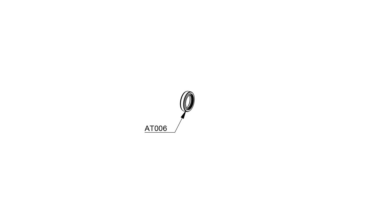 Oil seals viton 20/30/7 mm (Set of 2) (AT006)