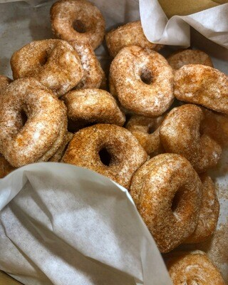 Mini Cinnamon Sugar Donuts