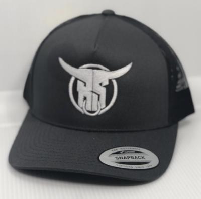 Grey BS Snapback Hat