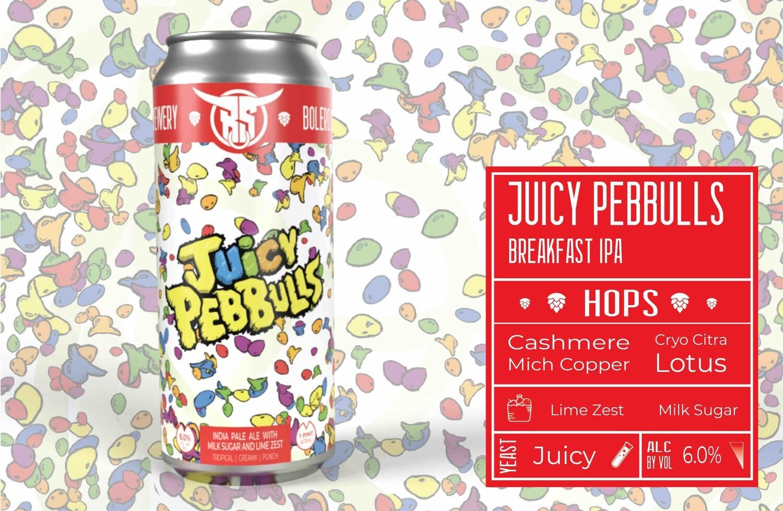 Juicy Pebbulls 4pk