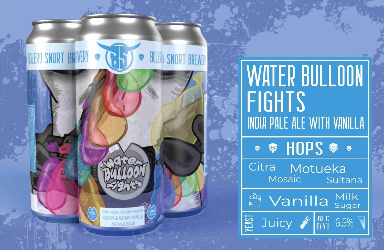 Water Bulloon Fights IPA 4pk
