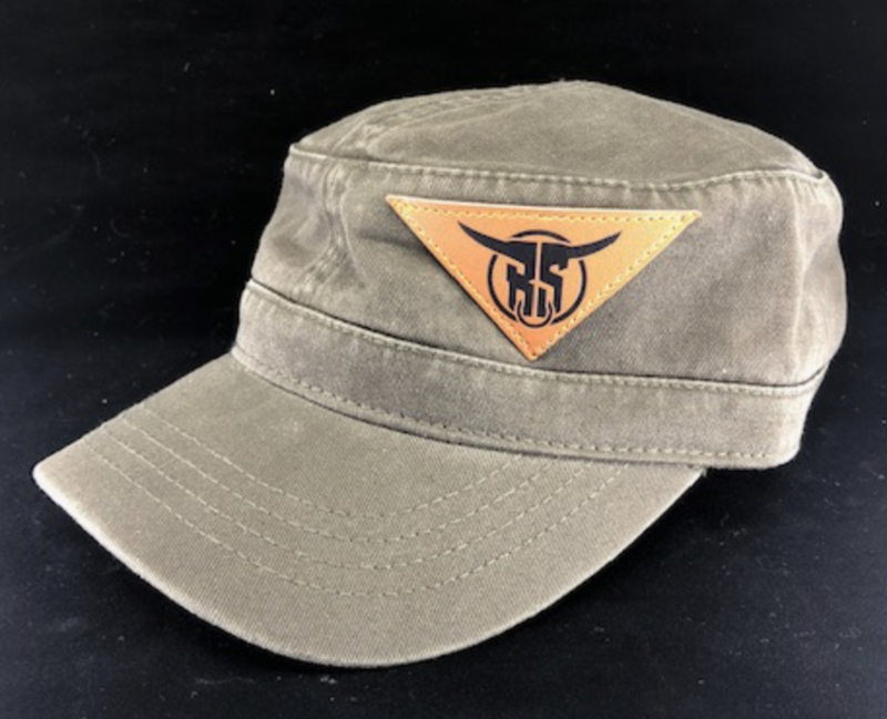 Military Hat w/ Triangle Patch