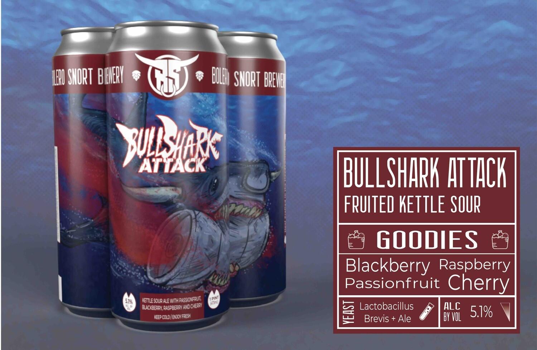 Bullshark Attack 4-pack