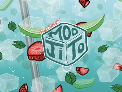 Strawberry Moojito
