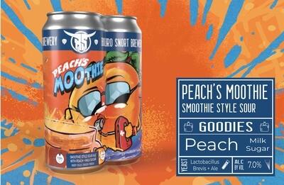 Peach'S Moothie 4pk
