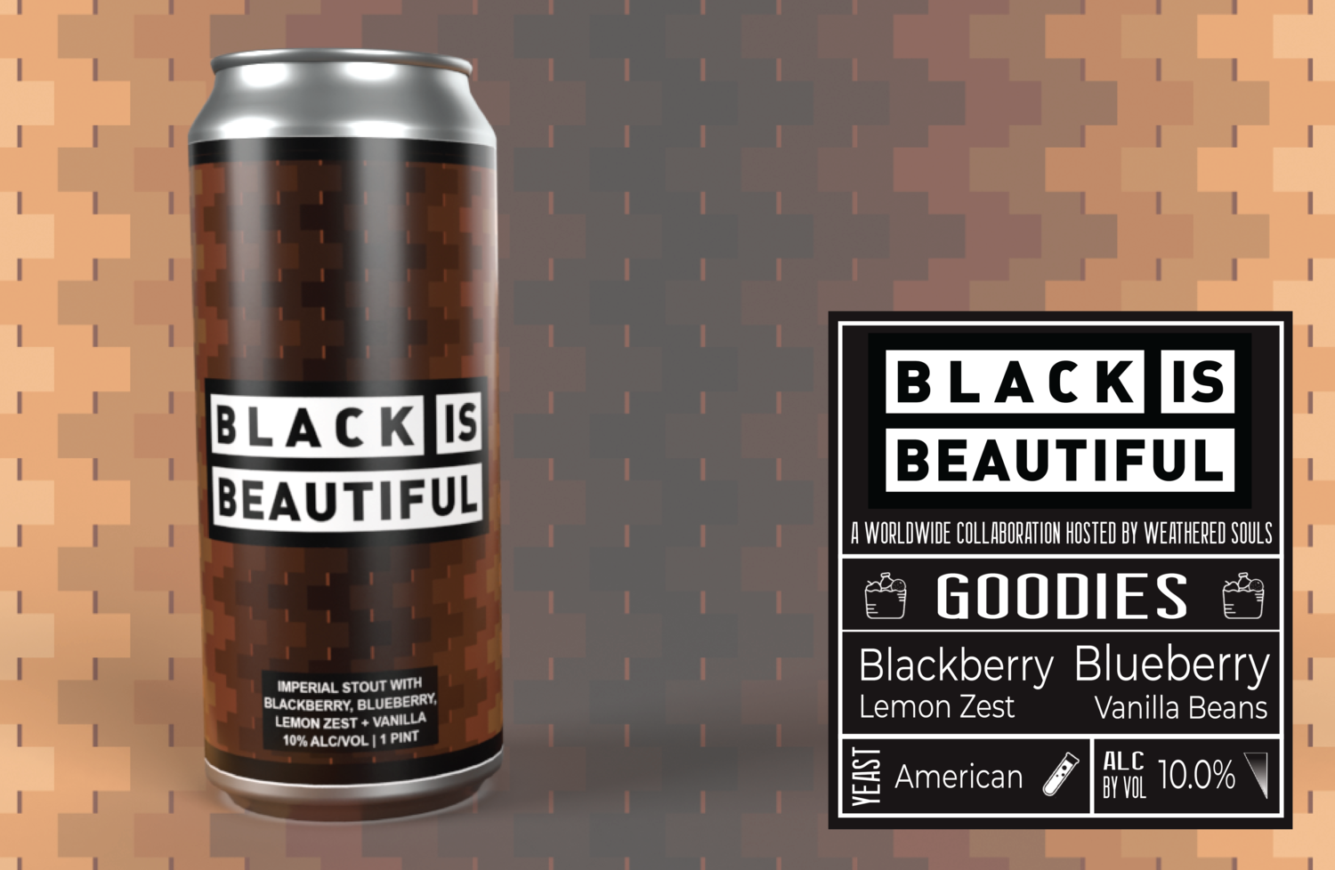 Black is Beautiful Stout 4pk