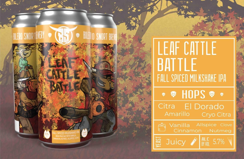 Leaf Cattle Battle Fall Milkshake IPA 4pk