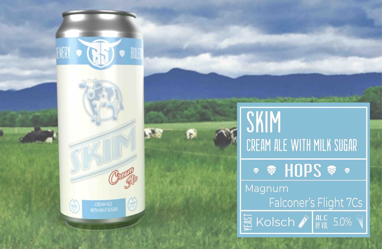 Skim Cream Ale 4pk