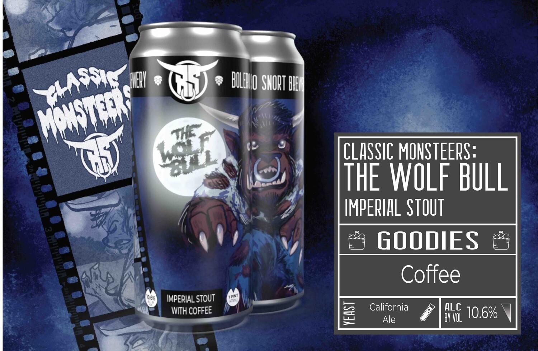 Monsteers: Wolf Bull 4pk
