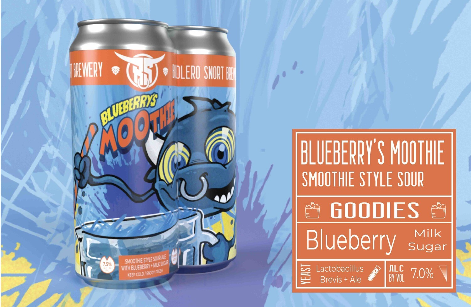 Blueberry'S Moothie 4pk
