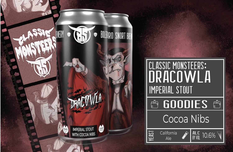 Monsteers: Dracowla 4pk