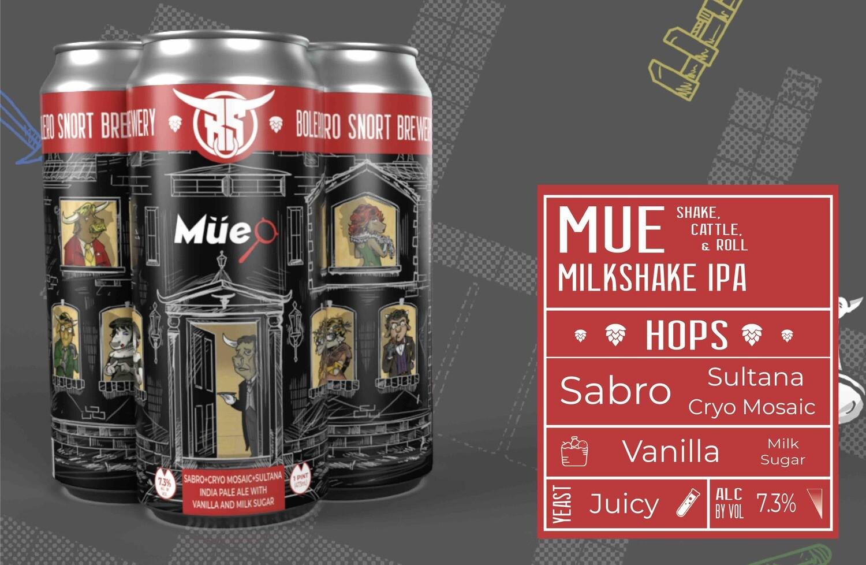 MUE: Shake cattle & Roll IPA 4pk