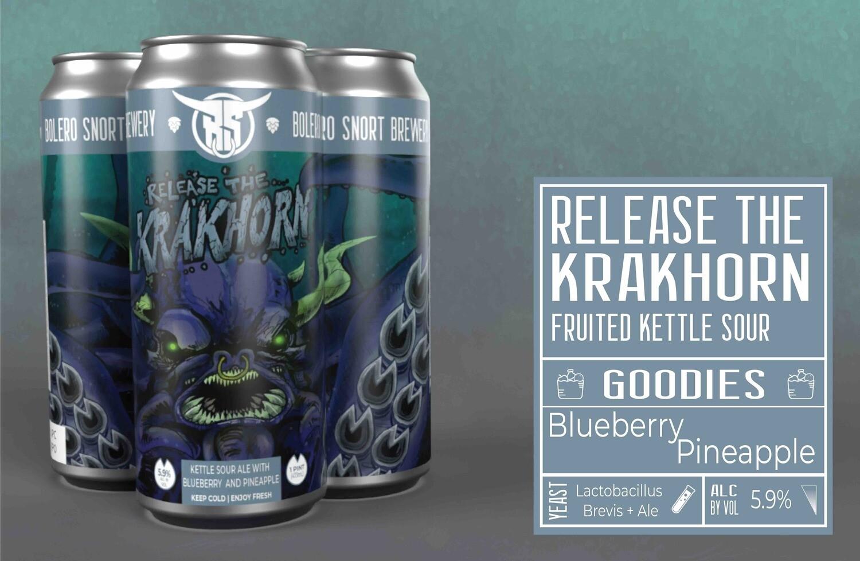Krakhorn Blueberry/Pineapple Sour 4pk